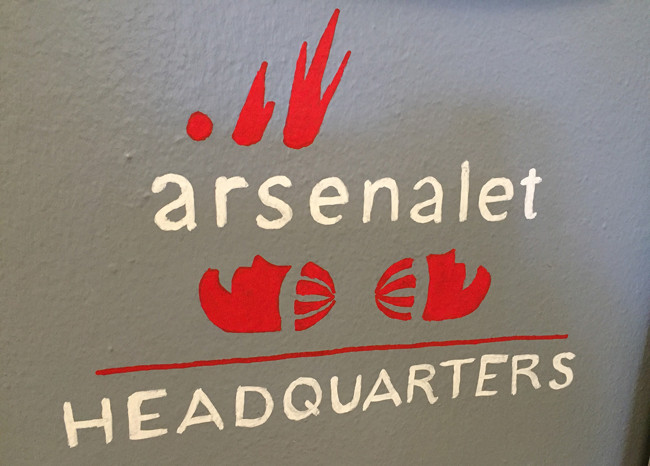 JodyPrody: Signs at Arsenalet